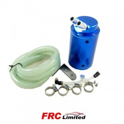 Oil Catch Tank Engine Breather 480ml With Fittings - 4 Colours