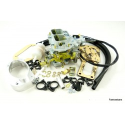 Ford 2.3 V6 Cologne Weber Carb Manual Choke With Air Filter Adaptor