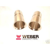 Weber 45 DCOE 60mm Rampipes Pair Factory Parts
