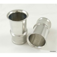 Weber 48 DCO/SP Alloy Rampipes/Airhorns Pair