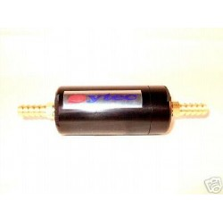 Petrol Fuel Filter Sytec Alloy Black Carb & Injection