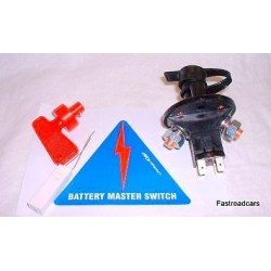 Battery Master Switch With Relay