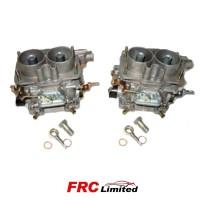 2 x (Pair) Weber  40 DCNF 12 Carburettors & Fuel Unions - 18950 060