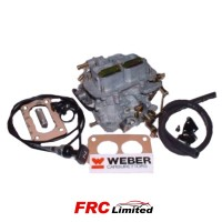 Twin Weber Carburettor 38 DGMS Manual Choke Ford V6