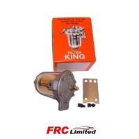 Fuel Regulator Filter King 85mm - Clear Bowl