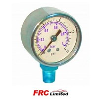 Fuel Pressure Gauge Carburettor use - up to 15 Psi