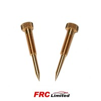 2 x Weber 48 IDA Carb Mixture Screws - Pair