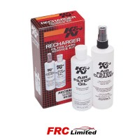 K&N Air Filter Service Kit Cleaner & Oil Squeeze Bottle