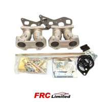 Triumph TR3- TR4 Inlet Manifold, Linkage & Fitting Kit - Weber 40/45 DCOE