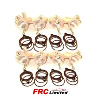VW 8v Golf/Scirocco 1.6/1.8 Weber 45 DCOE x2 Manifolds Pair
